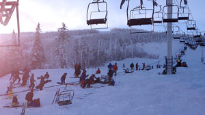 PHOTO: Sugarloaf Ski Lift Accident