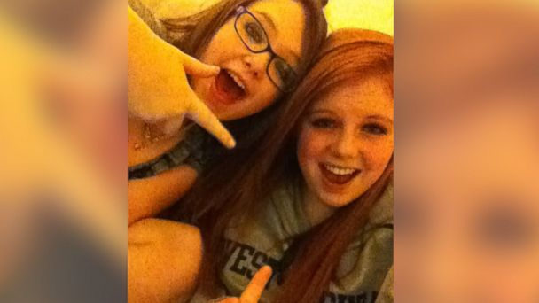 Best friends Skylar Neese and Rachel Shoaf pose in this Facebook photo