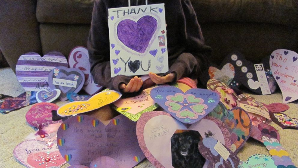 PHOTO: The victim of the Slender Man stabbing in Wisconsin has released photos thanking people for their support.
