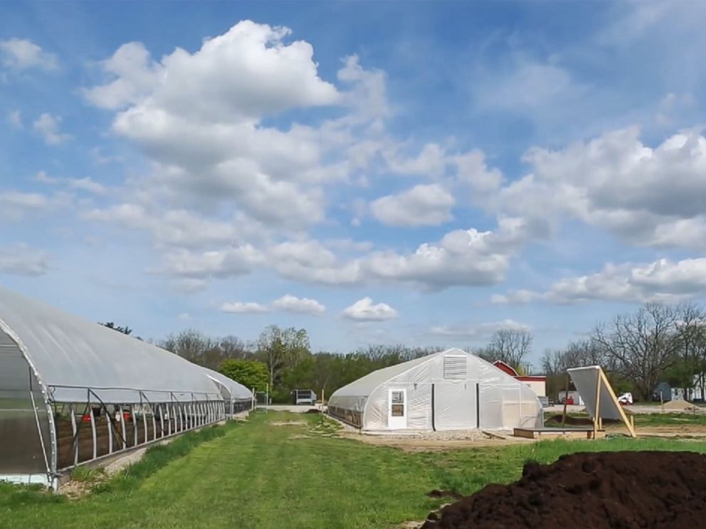 PHOTO: A screen grab from The Farm at St Joseph Mercy Hospital video on YouTube.