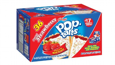 Hurricane Irene prompted people across the Northeast to stock up on food and survival items, flooding super markets and chain retailers like Walmart and Home Depot.  A surprise item on the hurricane survival list: pop-tarts.  More hurricane survival items include batteries, flash lights and generators.