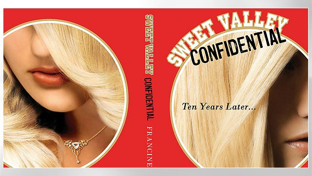 PHOTO: Shown here is the new Sweet Valley Confidential book cover.