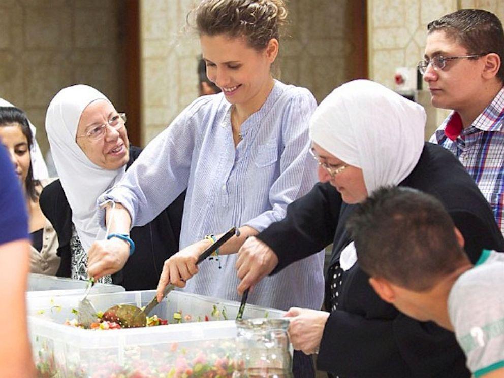 PHOTO: Asma Assad