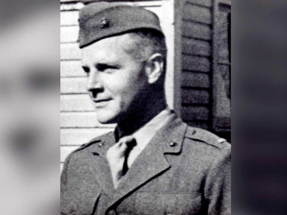 PHOTO: 1st Lt. Alexander Bonnyman Jr. is seen in an undated photo provided to ABC News by his grandson, Clay Evans. Bonnyman would be posthumously awarded the Medal of Honor for his heroism in World War IIs Battle of Tarawa.