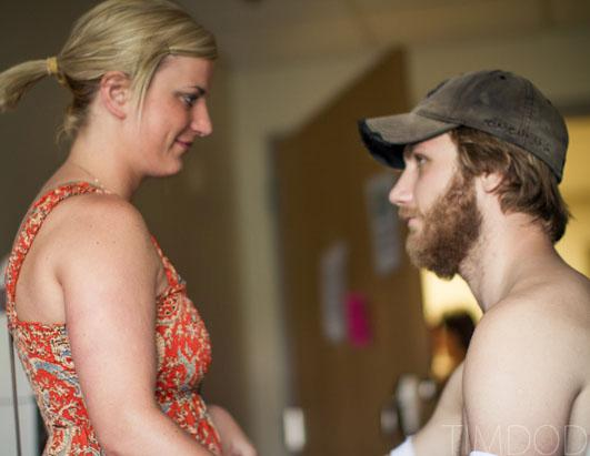 True love: Quadruple amputee thrives with help of girlfriend