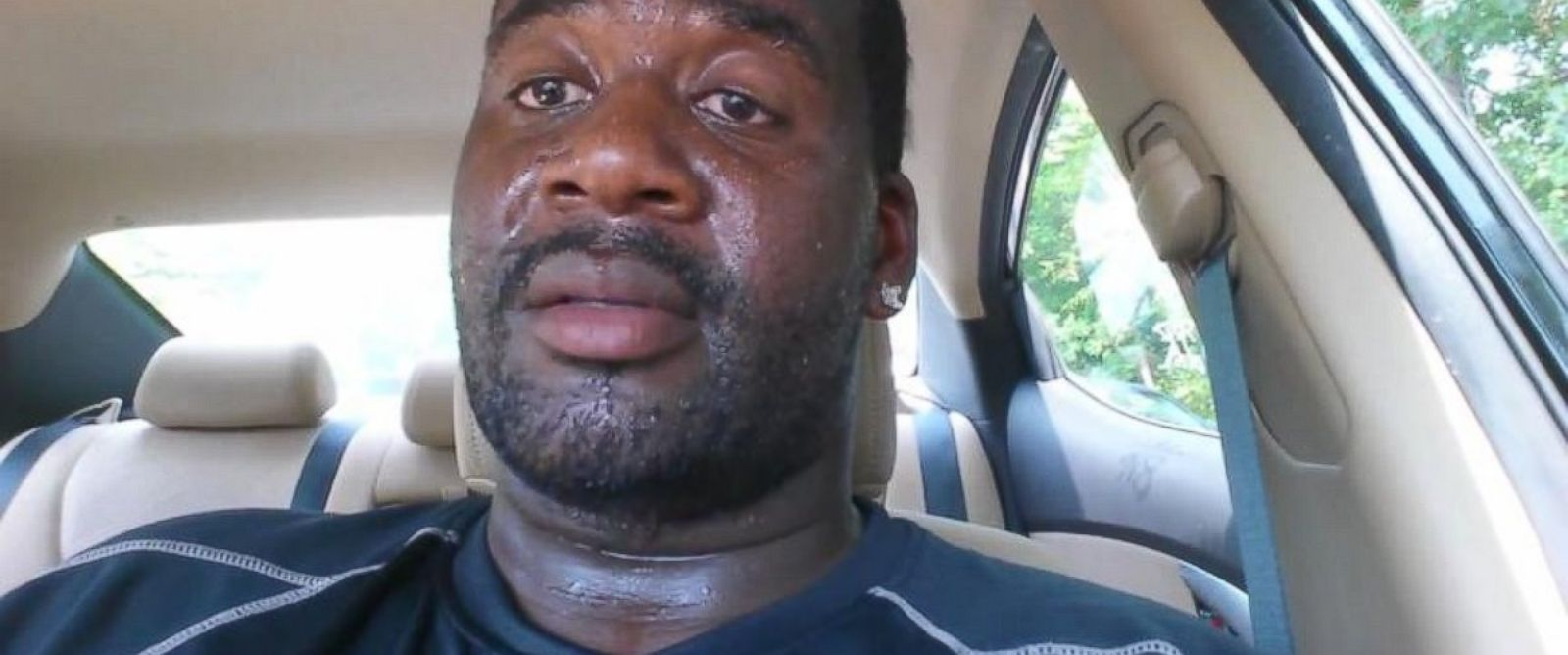 PHOTO: Terry Bartley videotaped himself in a hot car following the death of 22-month-old Cooper Harris, and uploaded the video to YouTube on June 20, 2014.