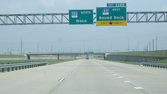 PHOTO: Texas Highway 130 has become the nation's fastest highway with an 85-mile-per-hour speed limit.