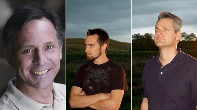 PHOTO: Tim Samaras, his son Paul Samaras and fellow storm chaser Carl Young are shown in photos from the Facebook of Tim Samaras and Twistex. They died Friday, May 31, 2013.