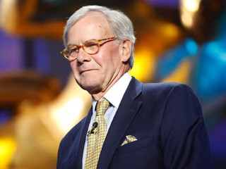Tom Brokaw Hospitalized, Doing Fine