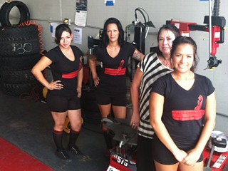 'All Girls' Tire Shop Thrives in Texas