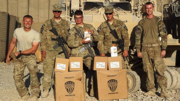 ht troops direct box arrival jc 140711 16x9 608 Marines Email Asking for Supplies Leads to Lifeline for Troops