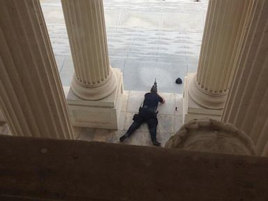 PHOTO: The Capitol is on lockdown