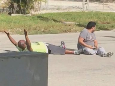 Unarmed Man Shot by Cop in Florida Is 'Hero,' Boss Says