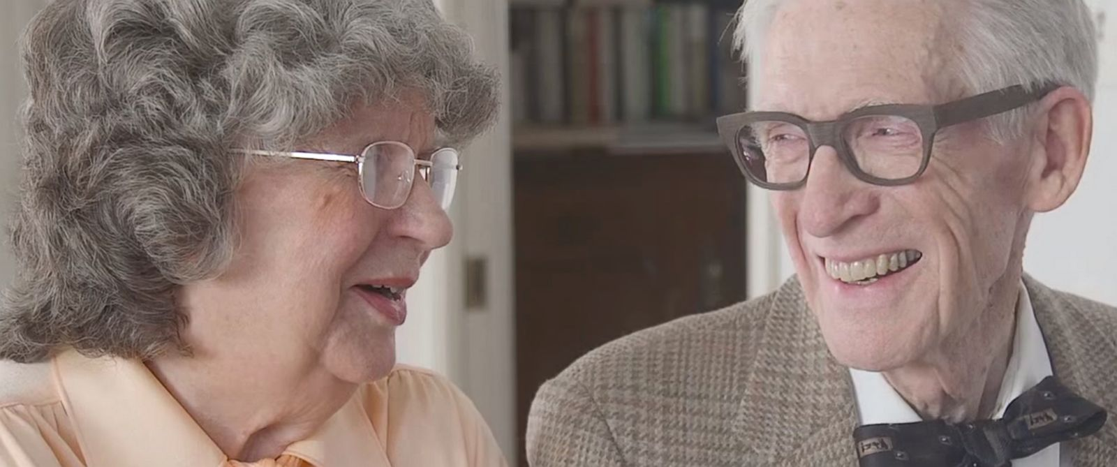 "PHOTO: Jason Lyle Black posted this video to YouTube titled: """"UP"" in Real Life: 80-Year-Old Grandparents Celebrate Anniversary with Adorable Piano Duet."""
