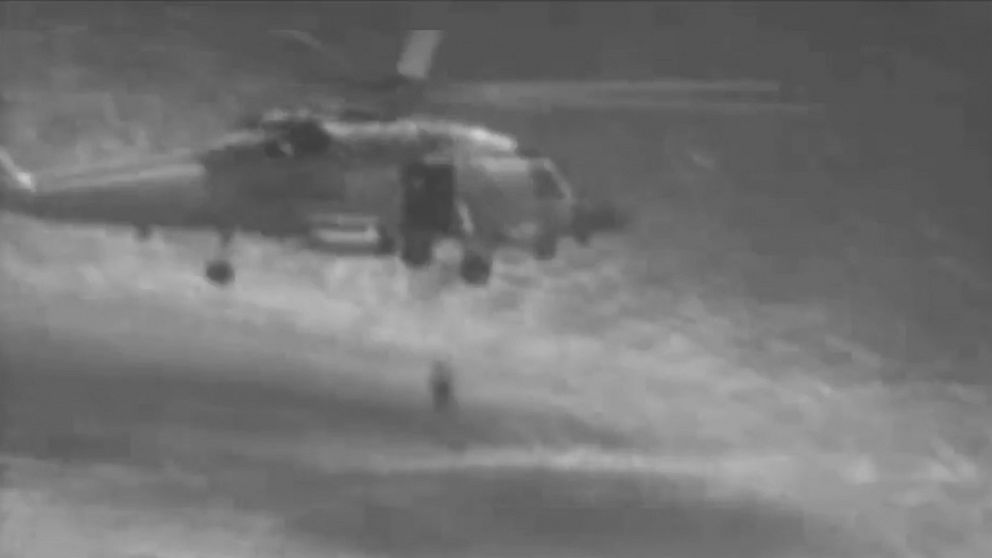 Ex-Navy pilot rescued after 20 hours treading water in Gulf