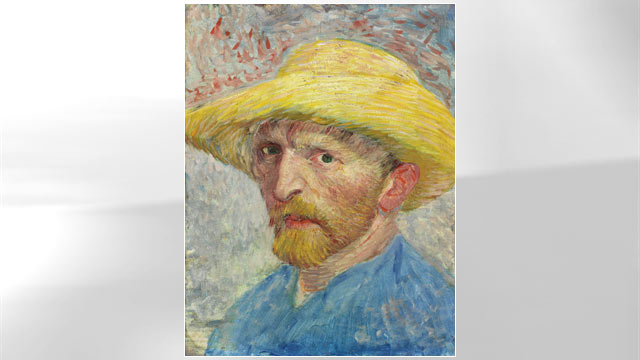 PHOTO: Van Gogh Self Portrait