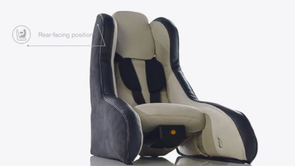 Volvo's Ingenious Inflatable Infant Car Seat