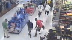 PHOTO: Police are still looking for teens involved in vandalizing a Walmart in Macon, Georgia, around 2 a.m. on June 28, 2015.