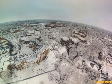 PHOTO: This photo is an aerial shot of Northern Alabama taken earlier today.