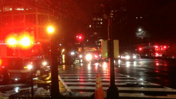PHOTO: The scene near the White House, where an individual driving a