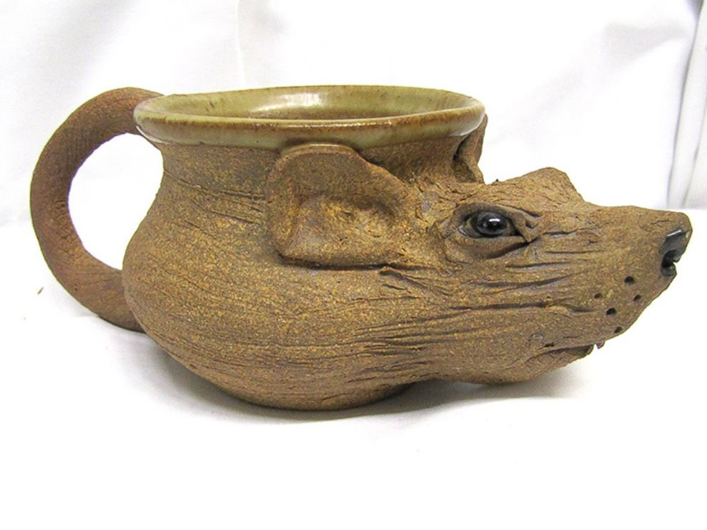 "PHOTO: U.S. Marshals will auction items belonging to James ""Whitey"" Bulger. Items include a rat cup."