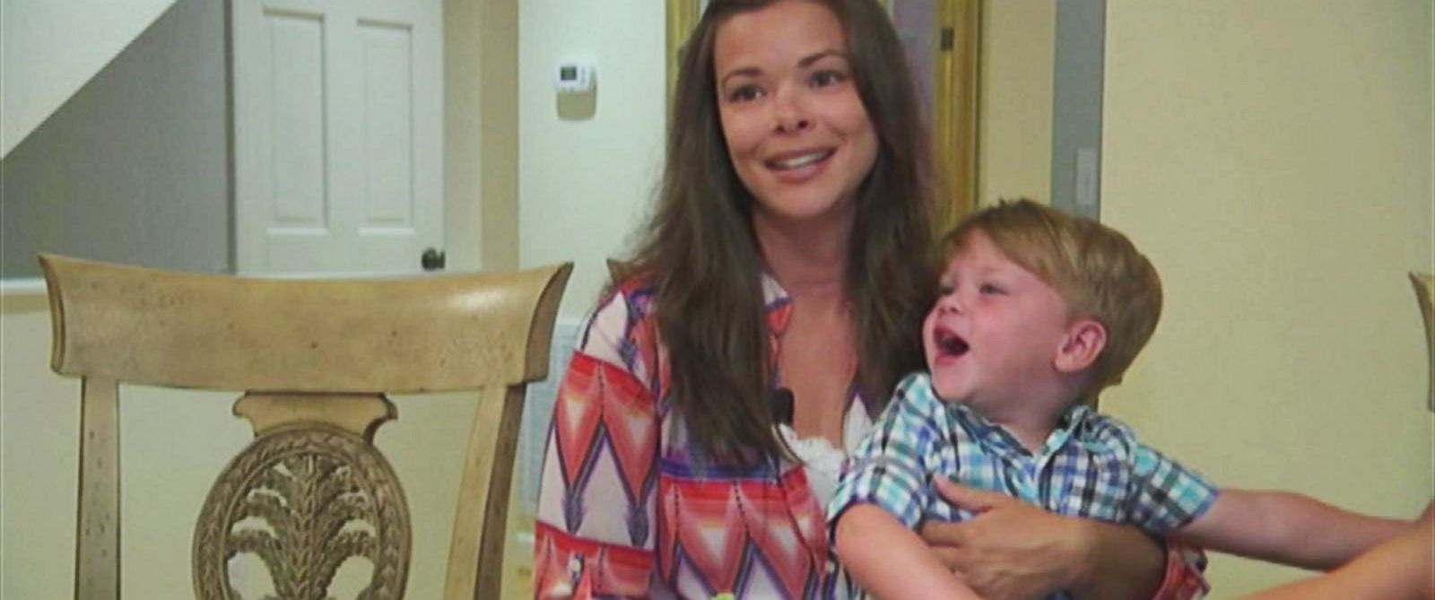 PHOTO: Melissa Wistehuff, pictured with her son Ian. A stranger paid the dinner bill for their family ater Ian had a tantrum in a Morehead City, NC. restaurant.