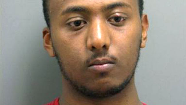 PHOTO: Yonathan Melaku, 22, of Alexandria, VA was arrested and charged with four counts of Grand Larceny.
