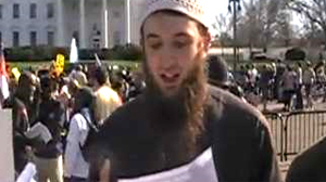 PHOTO Zachary Chesser, shown in this file image, accused of attempting to travel to Somalia to join the Islamist militant group Al-Shabaab appeared in federal court requesting that an attorney be appointed for him.