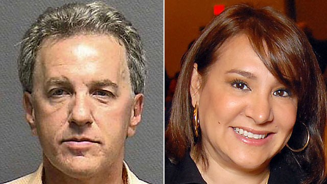 PHOTO: Houston attorney Jeffrey Stern, left, was indicted in an alleged plot to murder his wife, Yvonne Stern, shown right, but she's standing by him.
