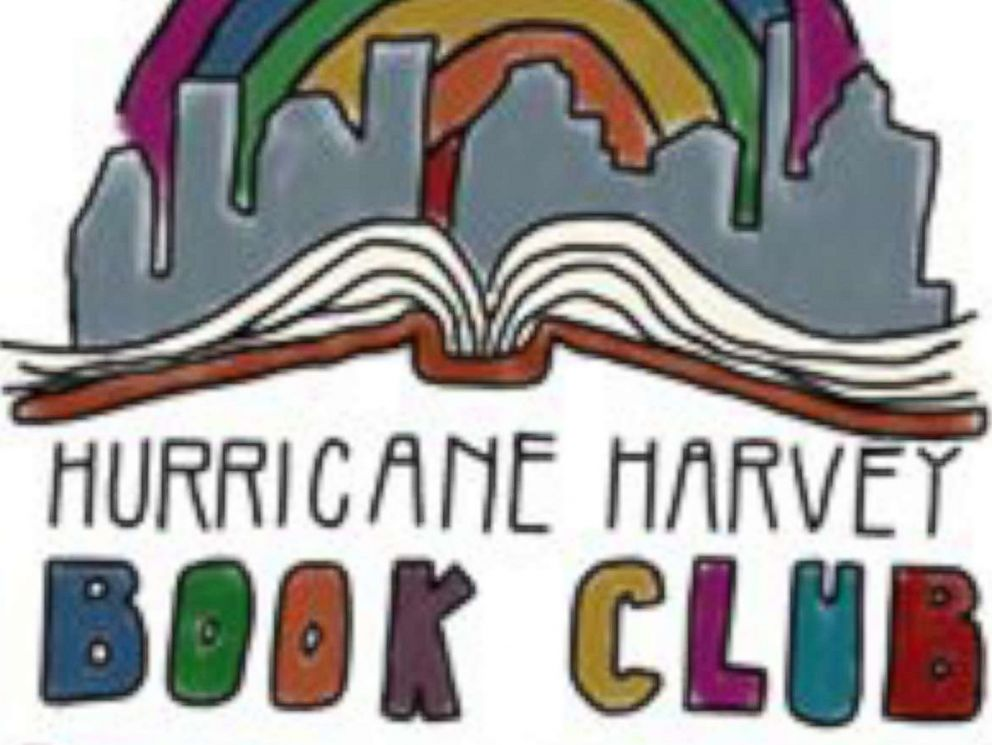 PHOTO: Kathryn Mills, a teacher from Columbus, Texas, started the Hurricane Harvey Book Club on Facebook.