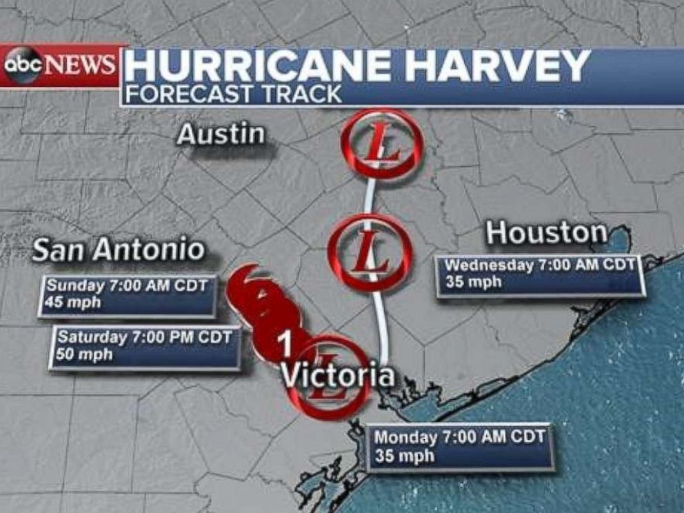 Tropical Storm Harvey What To Expect From The Historic