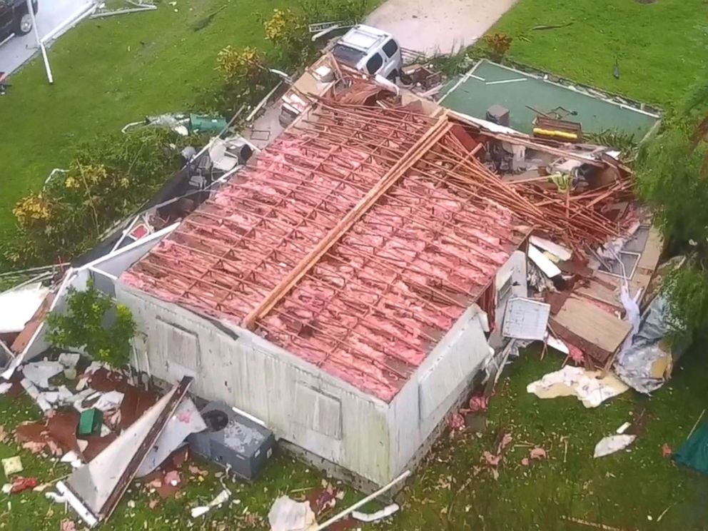 Hurricane Irma Caused Sizable Damage In Naples Drone Footage