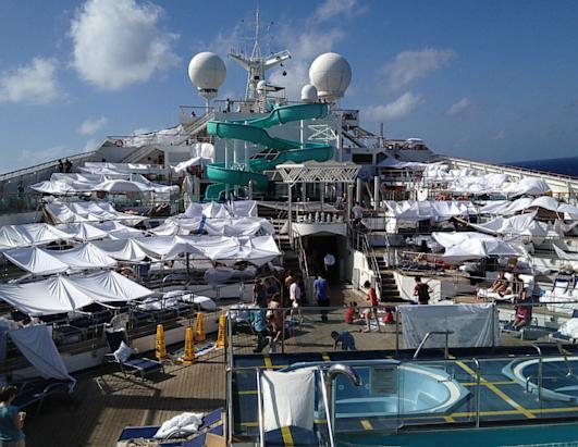 Carnival Triumph Cruise Ship Stranded Photos ABC News - Stranded cruise ship