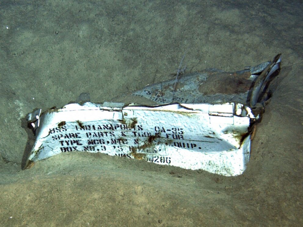 USS Indianapolis discovered 18000 feet below Pacific surface