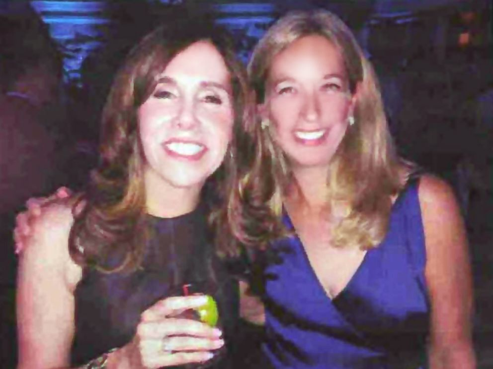 PHOTO: Robin Shainberg, right, shares an image of herself and her friend Irene Steinberg, who was killed in a plane crash while on vacation in Costa Rica