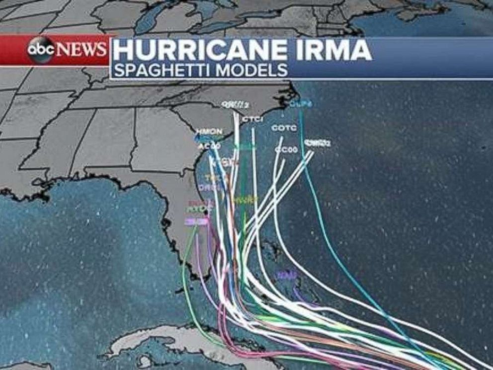 Hurricane Irma Causes At Least Deaths In Caribbean As Florida - Georgia map hurricane
