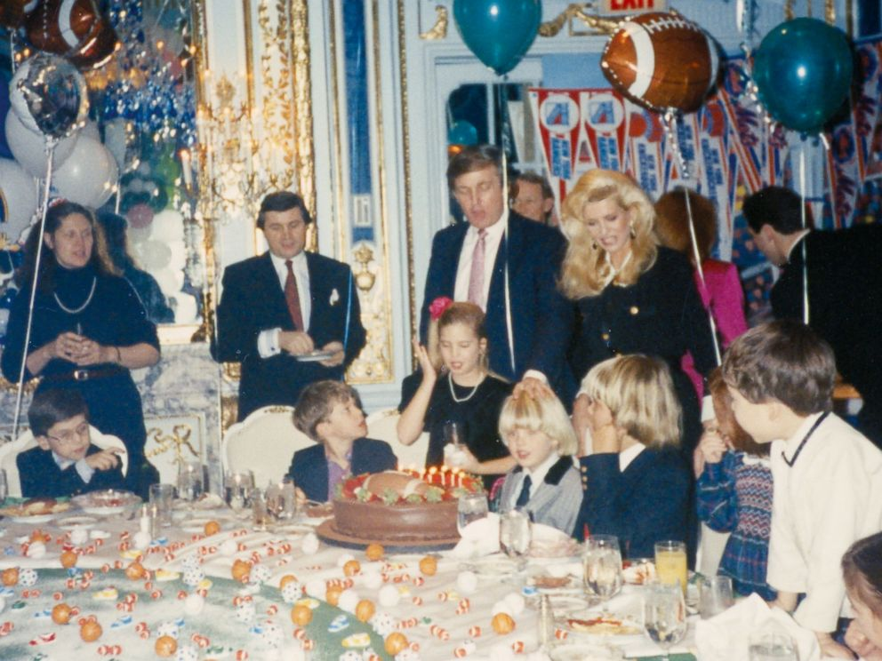 PHOTO: Ivana Trump shares a family photo from Eric Trumps sixth birthday party at the Plaza Hotel in New York City in 1990.