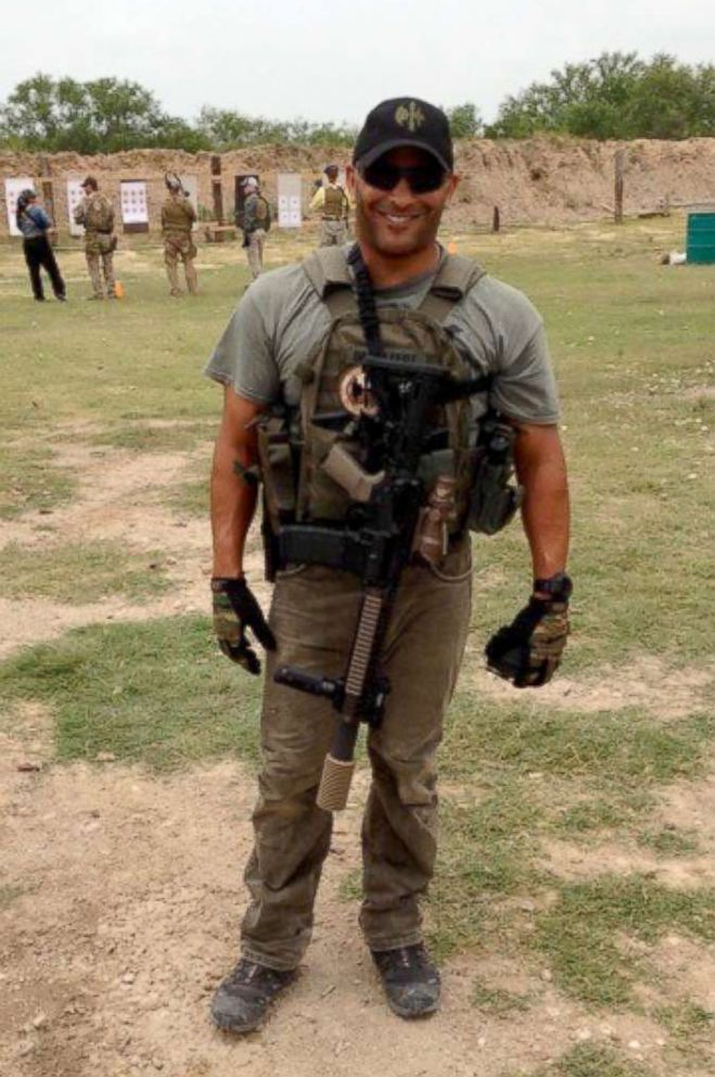 PHOTO: Jeff Bramstedt is seen here during his time as a Navy SEAL.