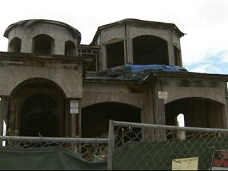 Watch: Unfinished California Mansion Angers Neighbors