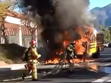 Driver Hailed a Hero After Rescuing Kids From Burning School Bus