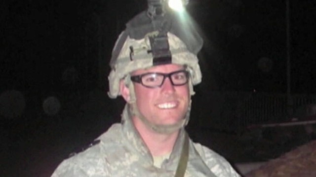 VIDEO: Sgt. Sean Patrick Fennertys photo was used in online plea for donations.