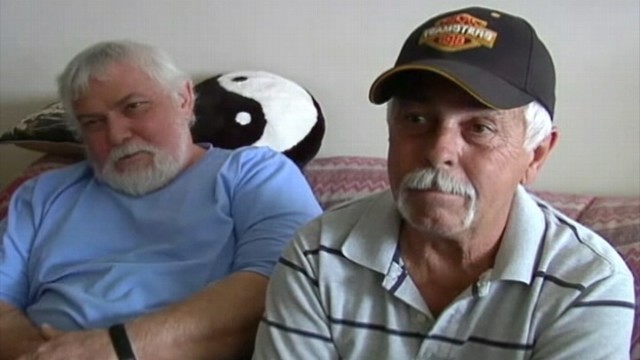 VIDEO; Gary Ulrich found his brother while volunteering at a California rescue mission.