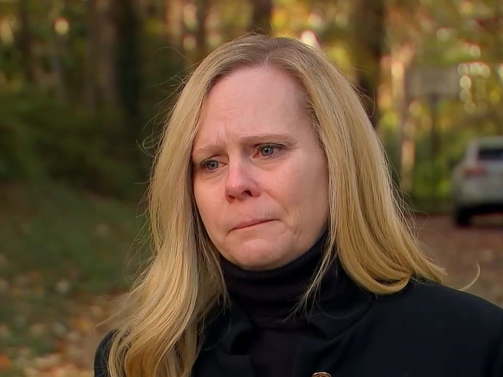 PHOTO: Sheridan Orr of Raleigh, N.C., the sister of suspected California gunman Kevin Neal, said her brother suffered from paranoia in an interview with WTVD on Nov. 15, 2017.