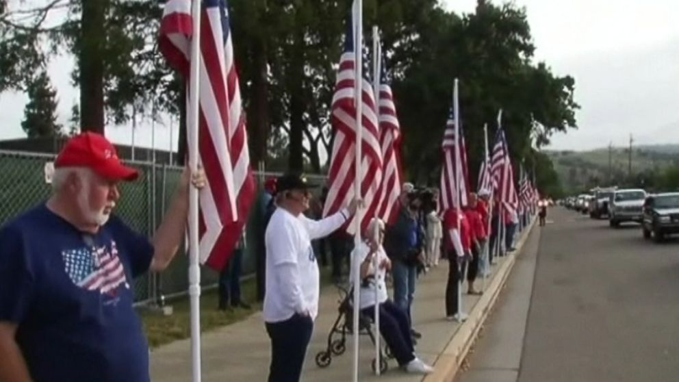 Anniversary of 2010 American flag T-shirt incident sparks another protest at Live Oak High School in California.