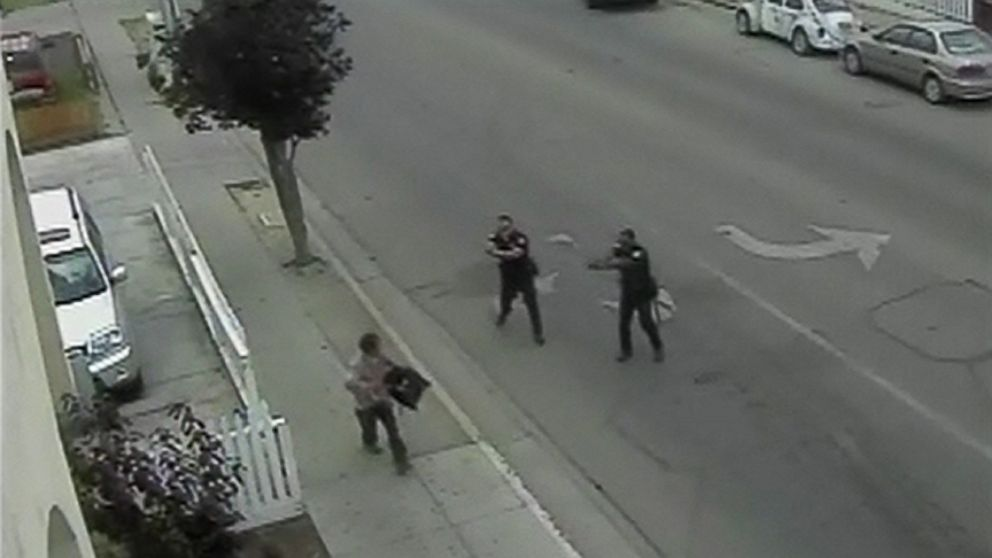 California Police Release Video Of Deadly Shooting Video