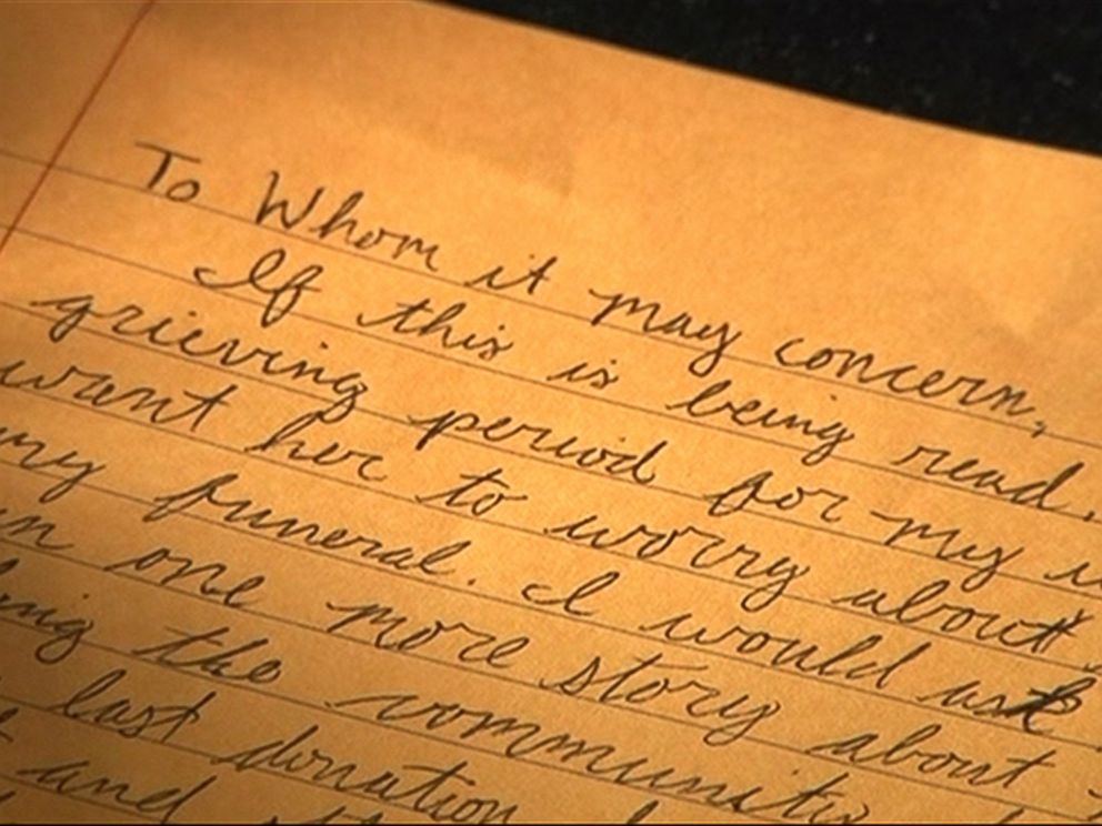Wife Discovers Trove Of Letters From Husband After His Death - Abc