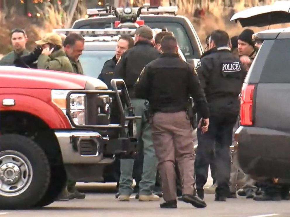 PHOTO: The Douglas County Sheriffs Office said they have multiple deputies down at a Highlands Ranch apartment complex, Dec. 31, 2017, in Douglas County, Colorado.