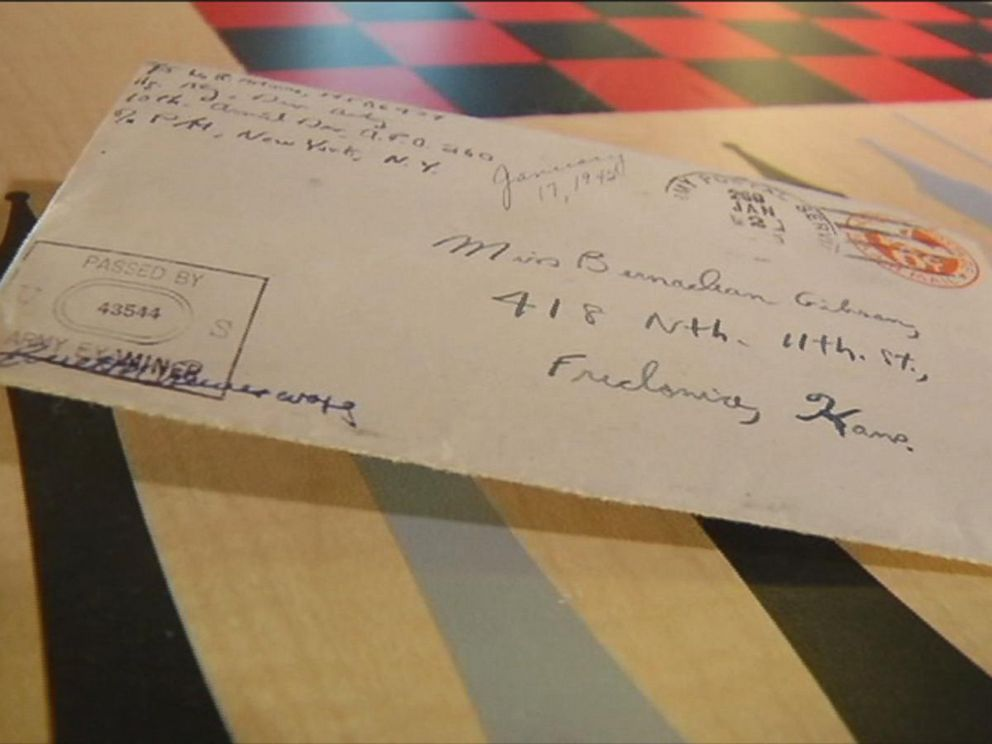 photo world war ii veteran bill moore received a long lost love letter he
