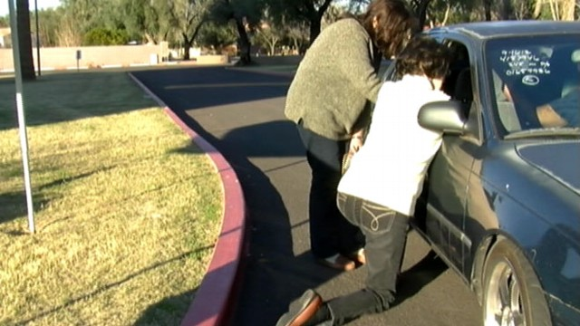 VIDEO: Arizona drivers can pull up to Living Streams Church to talk about their problems and concerns.