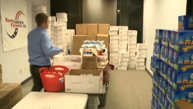 VIDEO: Thieves make off with an estimated $5,000 of Move America Forward charitys care packages.